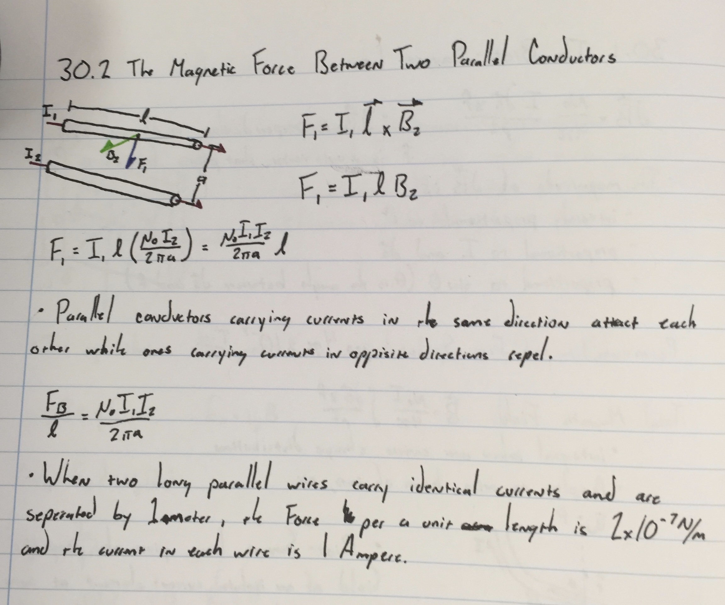 Chapter 30 — Sources of the Magnetic Field | NHS AP Physics C